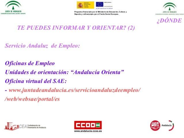 Presentacion procedimiento acredita 2015 acreditaci n de for Oficina virtual desempleo