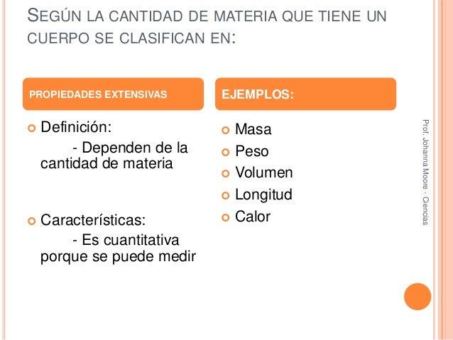 Presentacion propiedades fisicas de la materia for Inmobiliaria definicion