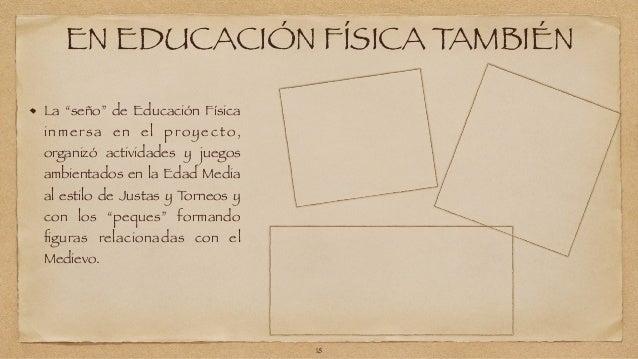 """EN EDUCACIÓN FÍSICA TAMBIÉN  La """"seño"""" de Educación Física  inmersa en e l proyecto,  organizó actividades y juegos  ambie..."""
