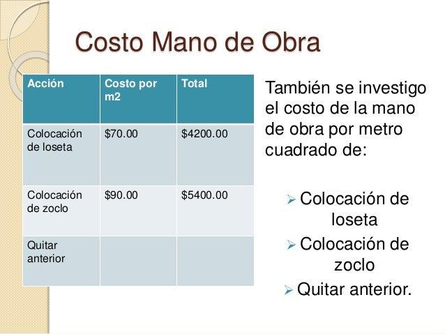 Presentacion proyecto dos for Loseta vinilica precio