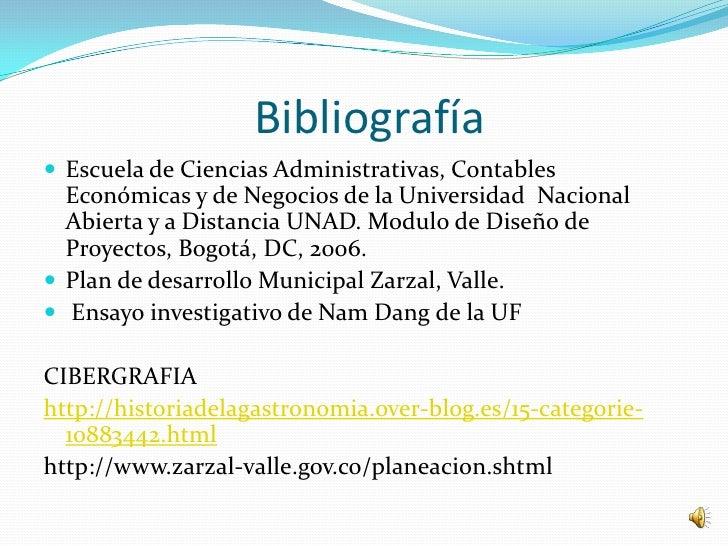 Bibliografía Escuela de Ciencias Administrativas, Contables  Económicas y de Negocios de la Universidad Nacional  Abierta...