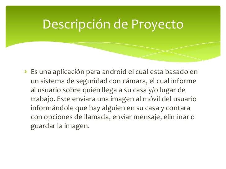 presentacion proyecto moviles
