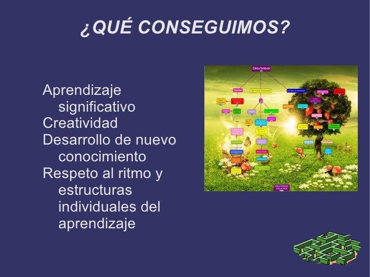 Herramienta organizadora de conocimiento que facilita la organización jerárquica de los conceptos. </li></ul>PULSA AQUÍ