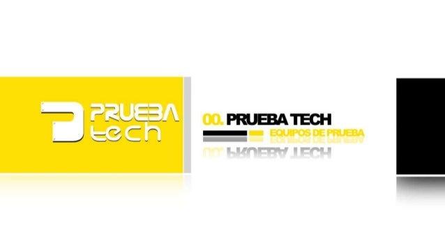 Presentación PruebaTech Equipos de Prueba y Medición