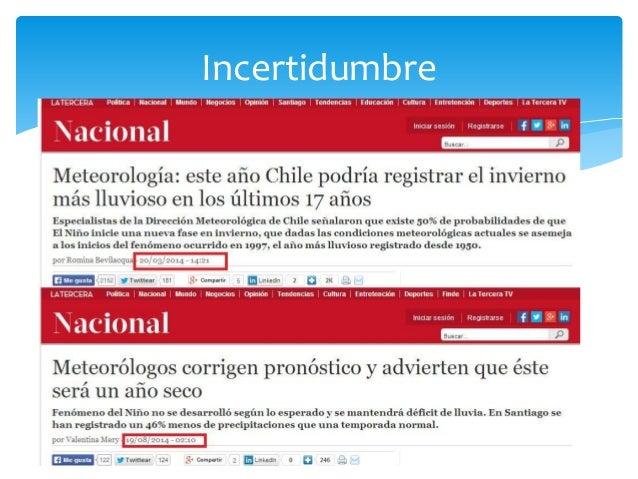 Gran presentación del Dr. Pablo Sarricolea , un estudio de la Universidad de Chile y la UNESCO