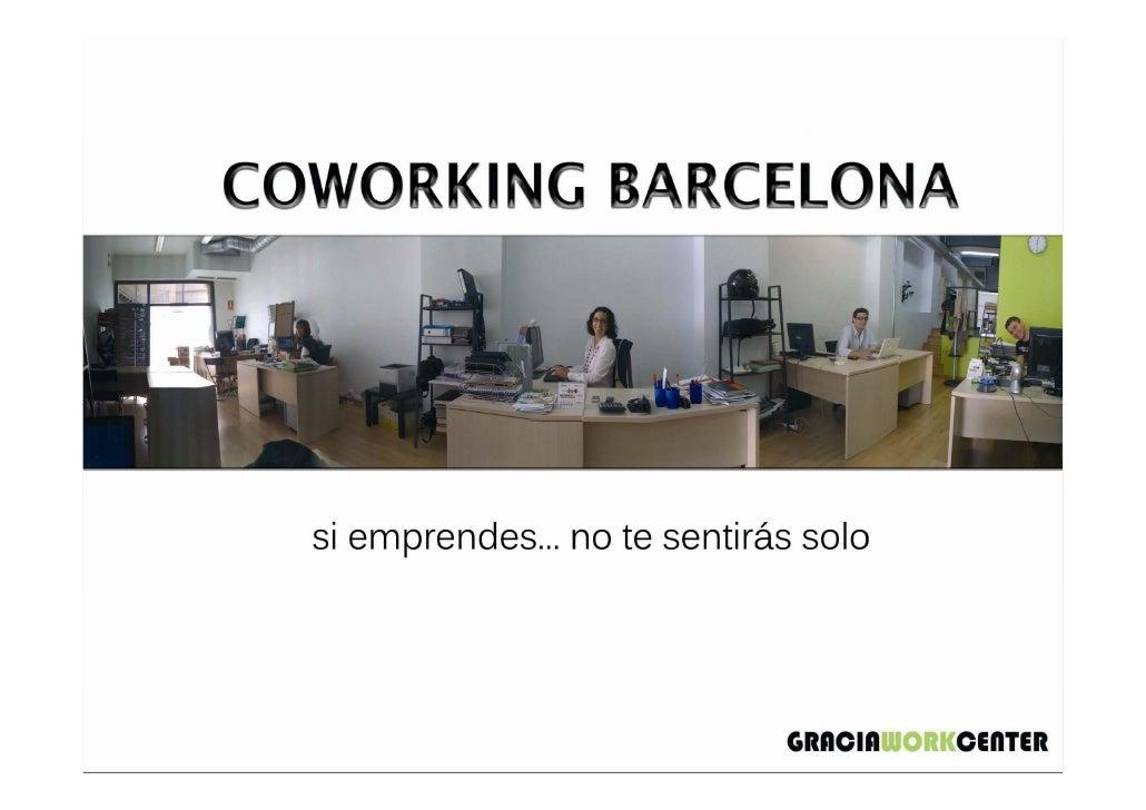 Coworking Barcelona. Gracia Work Center