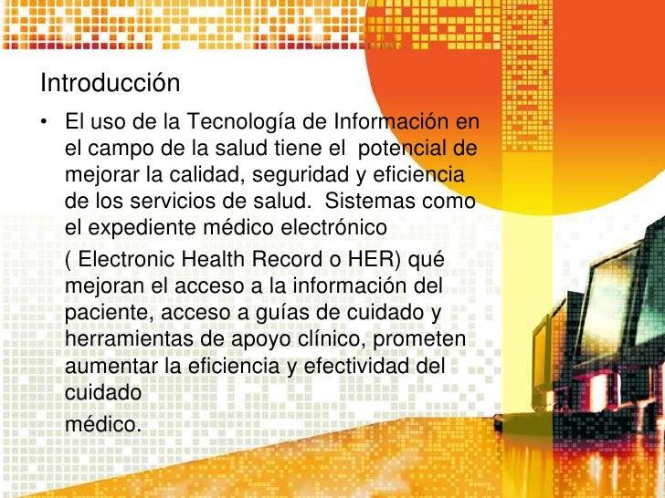 Presentacion Records Medico Electronico
