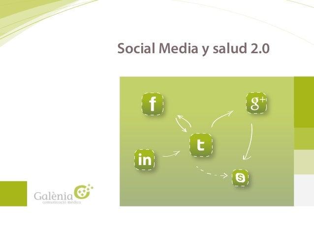 Social Media y salud 2.0 in