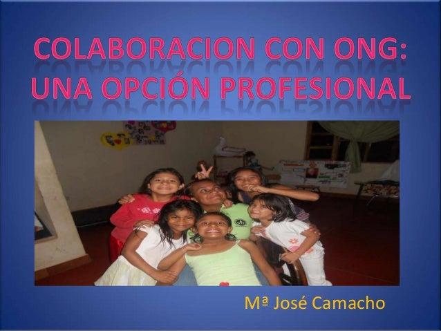M Mª José Camacho