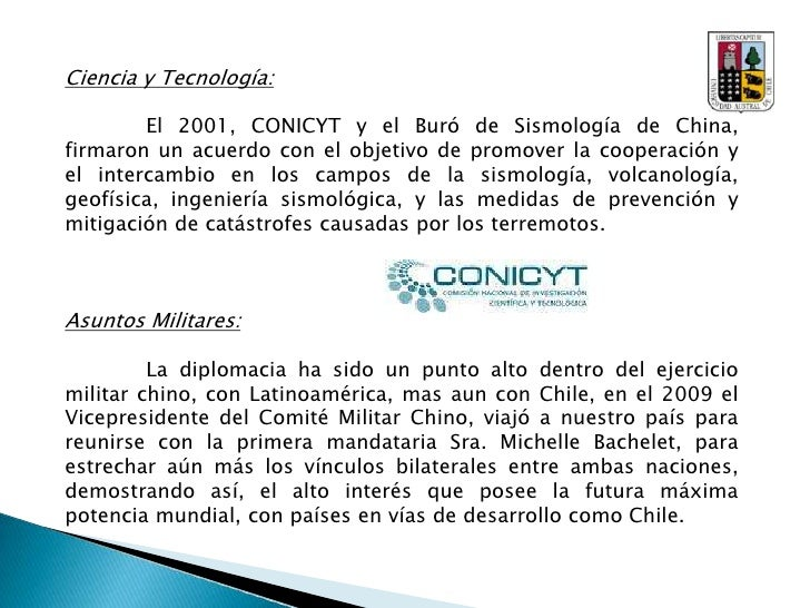 Chile visita China en:<br />1973: Ministro de Relaciones Exteriores Clodomiro Almeyda.<br />1978: Ministro de Relaciones E...