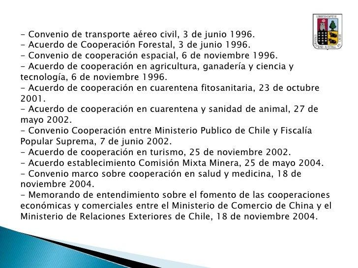 FOCALAE: Foro de Cooperación America latina-Asia-Este</li></li></ul><li>Relaciones Económicas y Comerciales:<br />Así com...