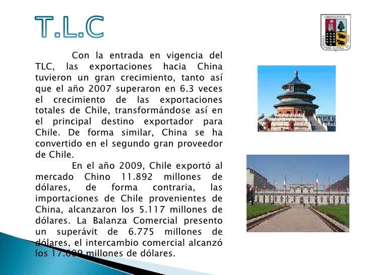 T.L.C<br />El Tratado de Libre Comercio, celebrado entre ambas partes, se centra principalmente en el intercambio de merca...