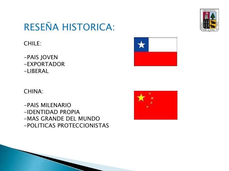 RESEÑA HISTORICA:<br />CHILE:<br /><ul><li>PAIS JOVEN