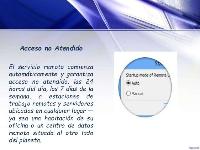 Presentacion remote utilities