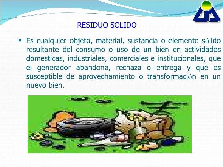 Presentacion residuos sólidos Slide 2