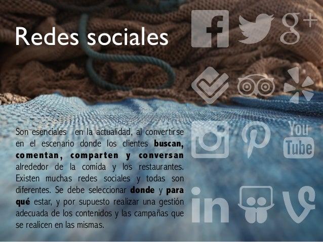 Redes sociales Son esenciales en la actualidad, al convertirse en el escenario donde los clientes buscan, comentan, compar...