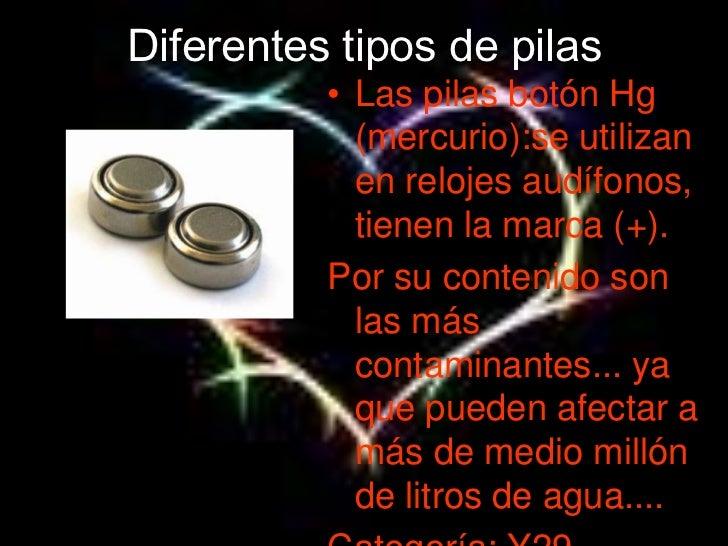 Pila voltaica - Tipos de pilas de boton ...