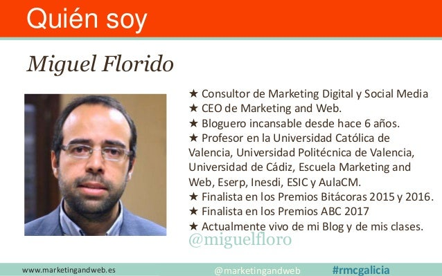 www.marketingandweb.es #SEO2015 @marketingandweb @semrush@marketingandweb #rmcgalicia Sorteo de 2 auditorías SEO + 1 hora ...