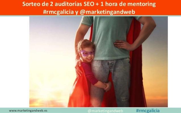 LA HISTORIA DE MI BLOG www.marketingandweb.es Inicia a Primeros de 2012 Un año después lo abandono Al año siguiente lo ret...