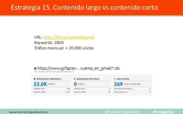 Estrategia 16. Crear una Familia www.marketingandweb.es @marketingandweb #rmcgalicia