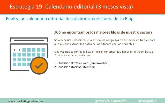 Estrategia 20. Optimiza la velocidad de carga www.marketingandweb.es @marketingandweb #rmcgalicia