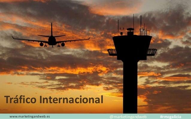 www.marketingandweb.es Tráfico Internacional España México @marketingandweb #rmcgalicia
