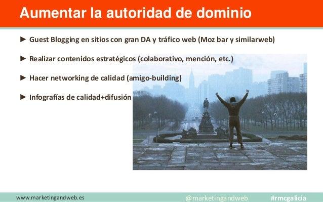 www.marketingandweb.es Descubre los 4 pilares clave @marketingandweb #rmcgalicia