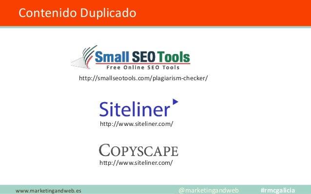 Herramientas para Triunfar en Internet www.marketingandweb.es @marketingandweb #rmcgalicia