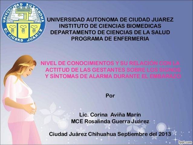 UNIVERSIDAD AUTONOMA DE CIUDAD JUAREZ INSTITUTO DE CIENCIAS BIOMEDICAS DEPARTAMENTO DE CIENCIAS DE LA SALUD PROGRAMA DE EN...