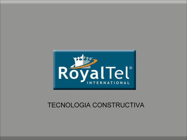TECNOLOGIA CONSTRUCTIVA