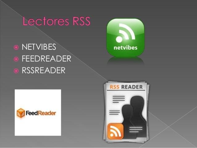 Presentacion rss