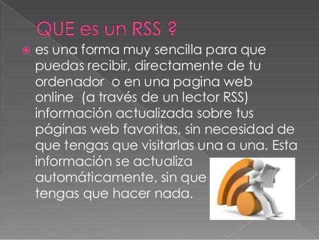 Presentacion rss Slide 2