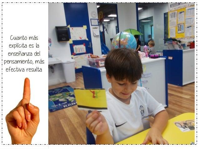 Cuanto mayor es  la atmósfera de  reflexión en la  clase, más alumnos  valorarán la  capacidad de  pensar.