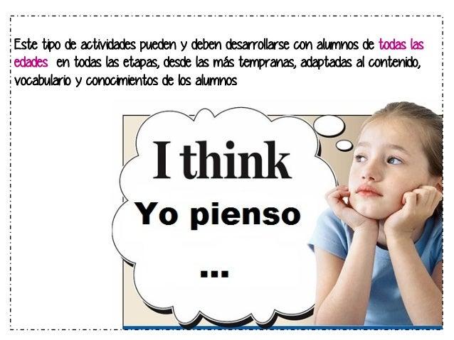 OBJETIVO GENERAL  El objetivo general de enseñar a pensar es el de preparar a los alumnos para que,  en el futuro, puedan ...