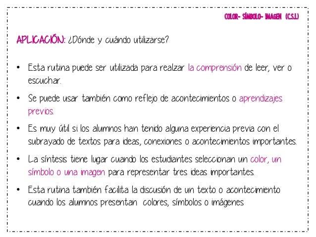 COLOR- SÍMBOLO- IMAGEN (C.S.I.)  http://aggiornamento1314.blogspot.com.es!  66  COLOR SÍMBOLO IMAGEN  !  COLOR6 SÍMBOLO6  ...