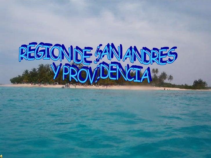 REGION DE SAN ANDRES Y PROVIDENCIA