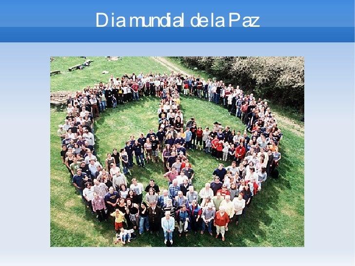 Dia mundial de la Paz