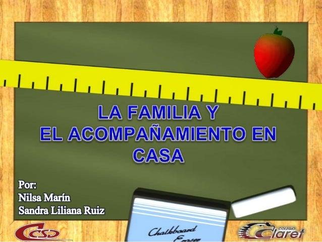 • MAESTROS• PADRES DEFAMILIA• COLEGIO• FAMILIAResponsabilidadCompartidaToma deDecisionesActitudActiva yParticipativaConfia...