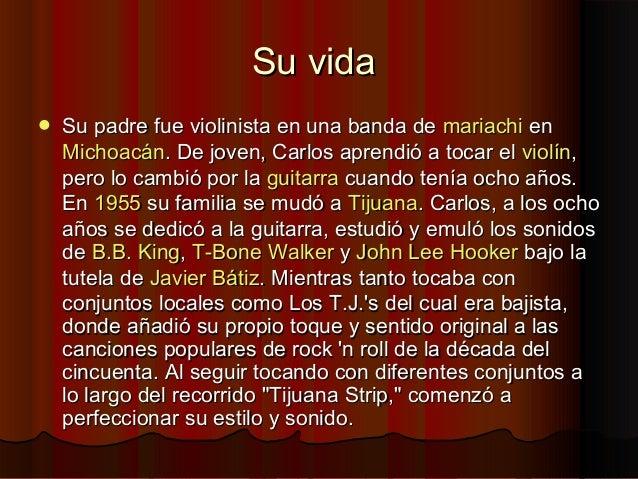 Su vidaSu vida Su padre fue violinista en una banda deSu padre fue violinista en una banda de mariachimariachi enenMichoa...