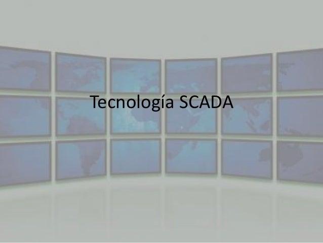 Tecnología SCADA