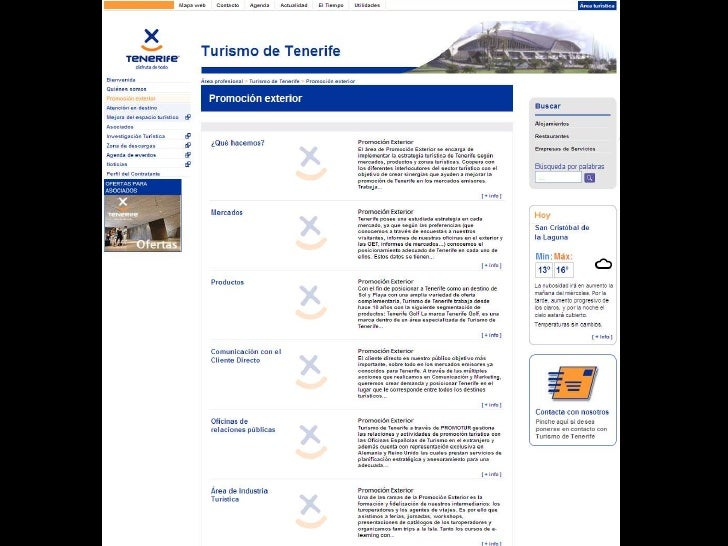 Presentaci n de la actividad de promoci n exterior de for Oficina de turismo de tenerife