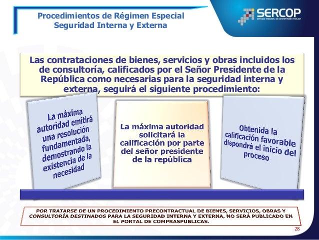 Procedimientos de Régimen Especial Comunicación Social  La contratación de estudios para la determinación de estrategias c...