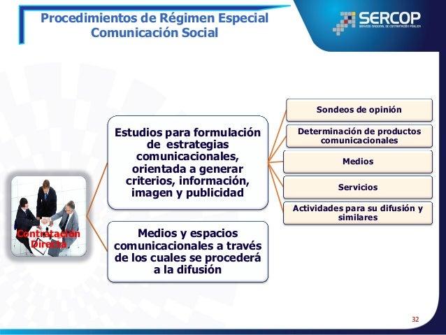 Procedimientos de Régimen Especial Asesoría y Patrocinio Jurídico  Resolución fundamentada En los pliegos se deberá descri...