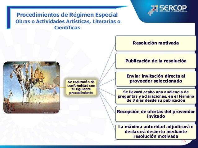 Procedimientos de Régimen Especial Repuestos y Accesorios  Resolución por razones de funcionalidad o necesidad tecnológica...