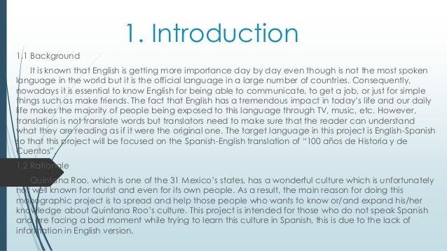 Historia Spanish To English Translation