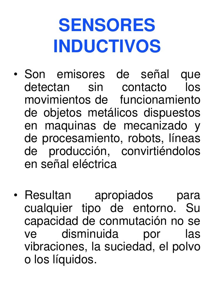 Presentacion sensores - Tipos de sensores de movimiento ...