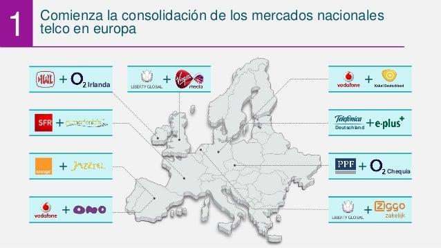 + +Deutschland + + Chequia + Comienza la consolidación de los mercados nacionales telco en europa + 1 + Irlanda + +