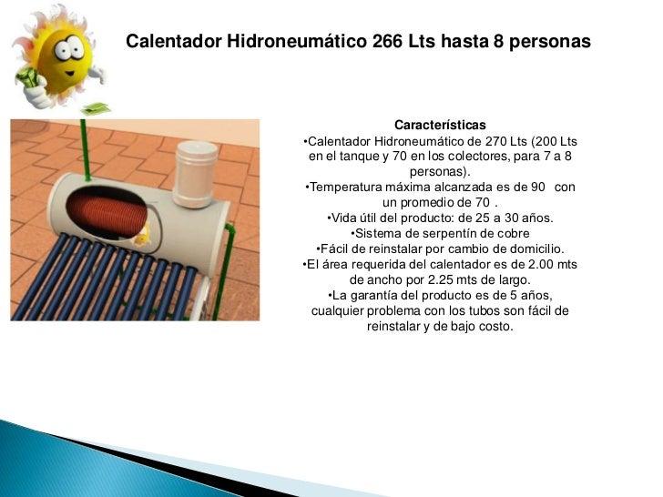 Ecoheat for Costo hidroneumatico