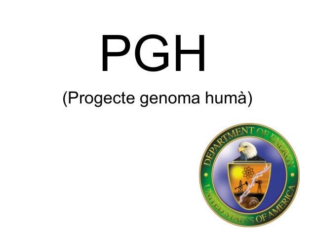 PGH (Progecte genoma humà)