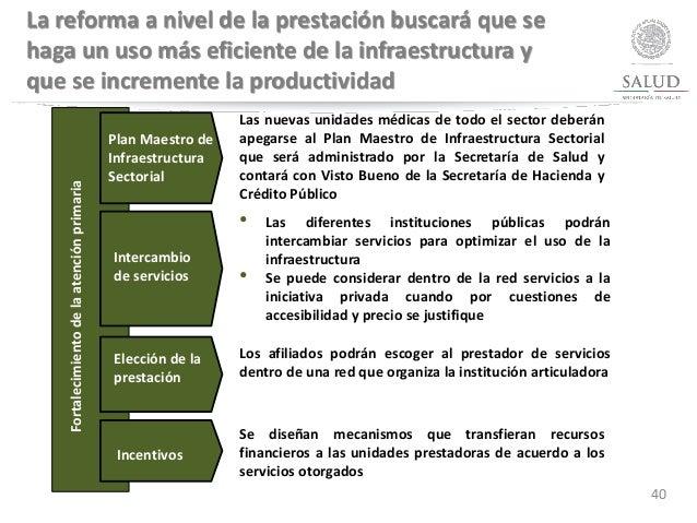 • Las diferentes instituciones públicas podrán intercambiar servicios para optimizar el uso de la infraestructura • Se pue...